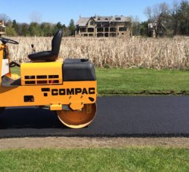 Golf course cart path resurfacin