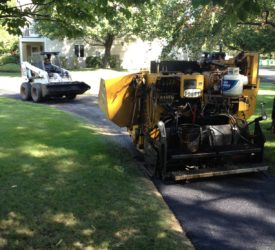 Homeowners association path residential paving